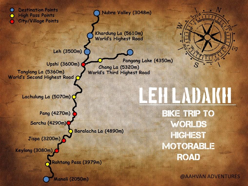 Best Motorcycle Road Trip India