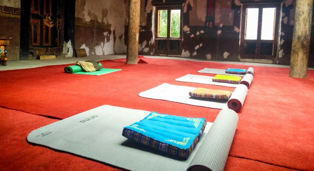 Nimmu House Yoga Room