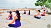Paradise - Sunrise Yoga on the Beach
