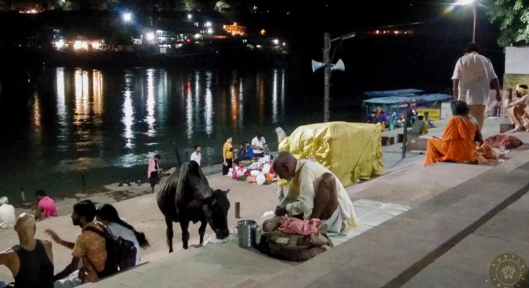 Pilgrims in Rishikesh