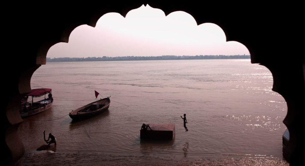 The Ganga in Varanasi